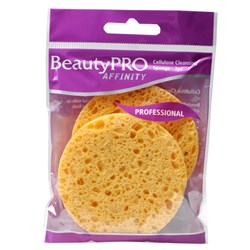 BeautyPRO Affinity Cellulose Cleansing Sponges, 2pk