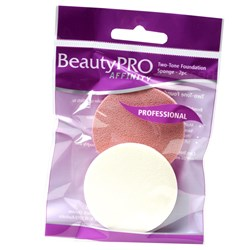 BeautyPRO Affinity Two-Tone Foundation Sponges, 2pk