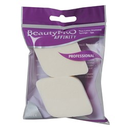 BeautyPRO Affinity Non-Latex Diamond Cosmetic Sponges, 2pk