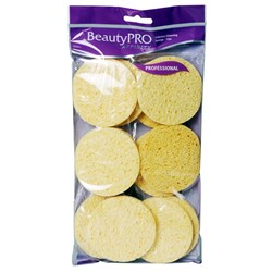 BeautyPRO Affinity Cellulose Cleansing Sponges, 12pk