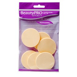 BeautyPRO Affinity Light Foundation Sponges No.2, 6pk