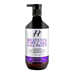 Nth Degree Brightening Purple Sage and Silk Protein Conditioner