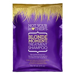 Not Your Mothers Blonde Moment Treatment Shampoo Sachet