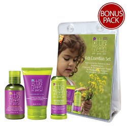 Little Green Kids Travel Hair and Skin Care Set