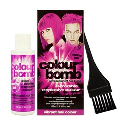 Colour Bomb Semi Permanent Hair Colour Kit in Pink