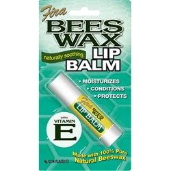 Beeswax Lip Balm – Vitamin E
