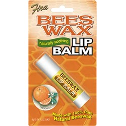 Beeswax Lip Balm – Orange