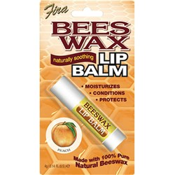 Beeswax Lip Balm – Peach