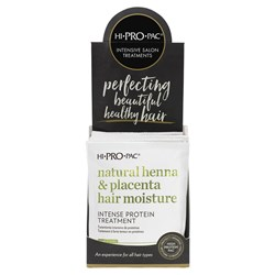 Hi Pro Pac Henna, Placenta, Vitamin E Intense Protein Hair Treatment 12pc