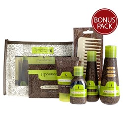 Macadamia Natural Oil Travel Haircare Pack