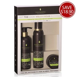 Macadamia Professional Voluminous Blowdry Pack