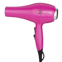 Silver Bullet Satin Hair Dryer Pink