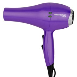 Silver Bullet Satin Hair Dryer Purple