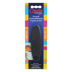 Credo Duo Soft Foot File Replacement Pads 4pk