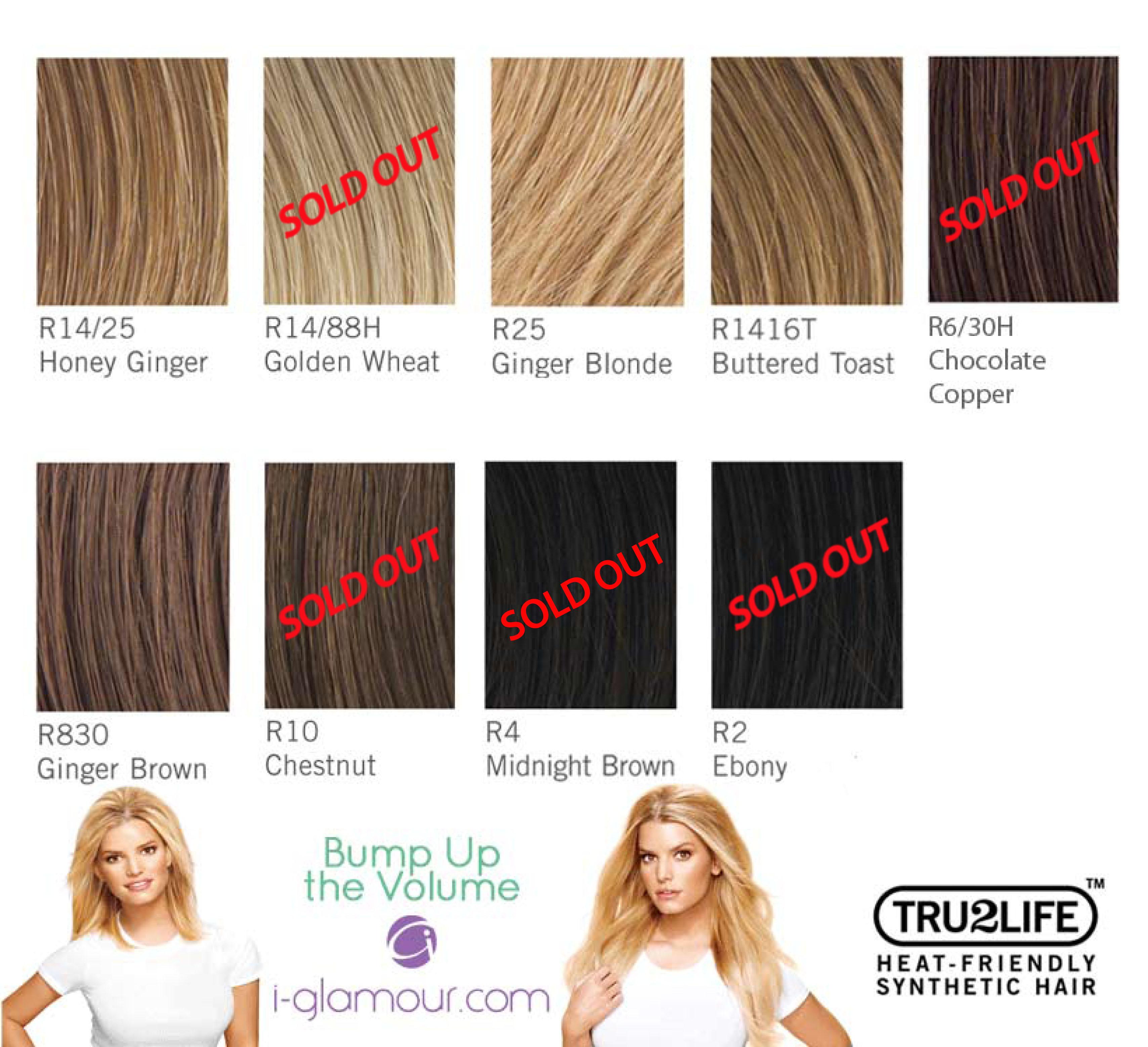 Hairdo Jessica Simpsons Tru2life Bump Up The Volume Mid Length Hair