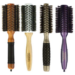 Radial Hair Brushes