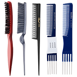 Teasing Combs & Brushes