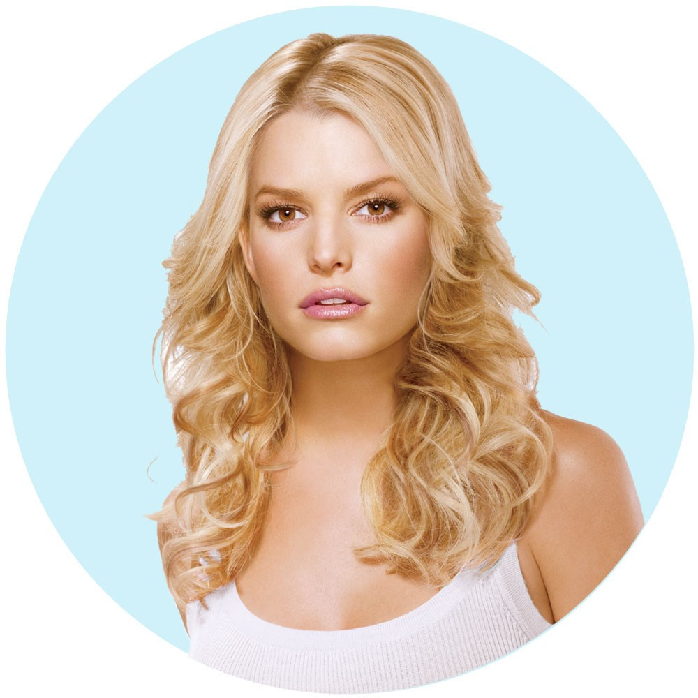Jessica Simpson Hairdo Tru2life 5pc Fineline Clip In Hair Extensions