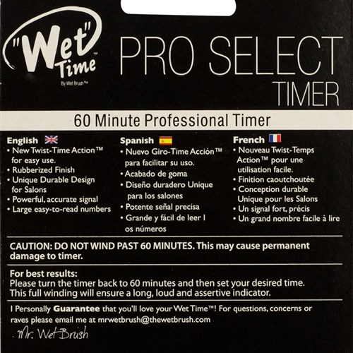 The Wet Time Pro Select Timer by The Wet Brush in Green