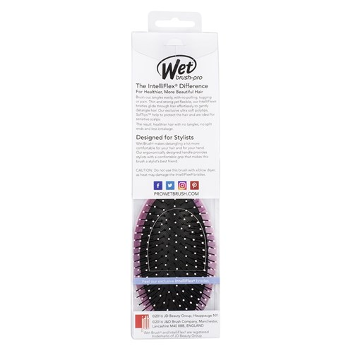 WetBrush Watercolour Detangling Hair Brush Pink