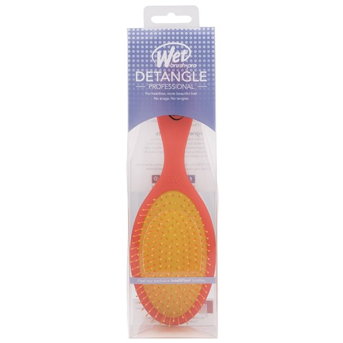 WetBrush Neon Detangling Hair Brush Orange
