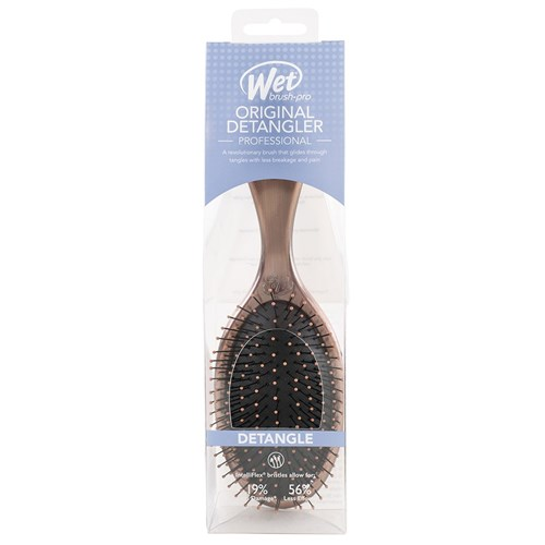 WetBrush Antique Detangling Hair Brush Bronze