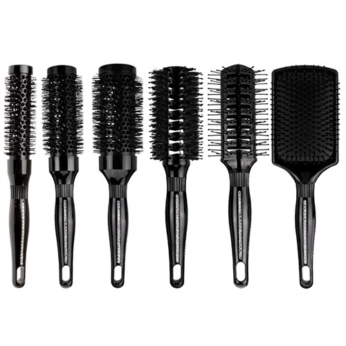 Brushworx Bling Round Vent Porcupine Hair Brush
