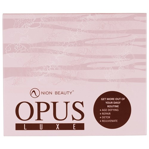 Nion Beauty Opus Luxe Facial Cleansing Brush Pink