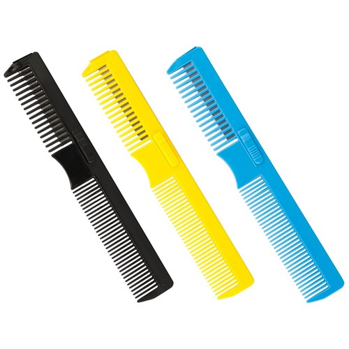 Dateline Professional Hair Razor Comb in Blue 17.5cm