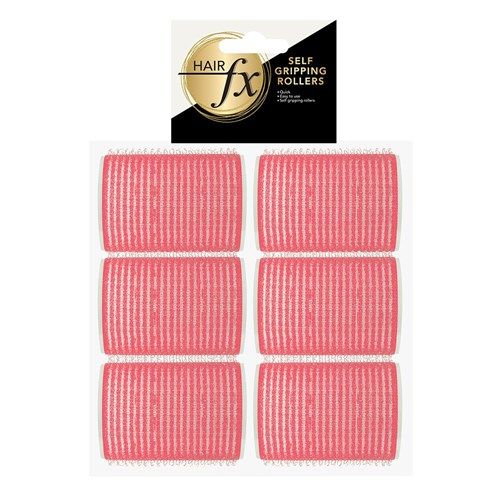 Hair FX Self Gripping 44mm Velcro Rollers, 12pk