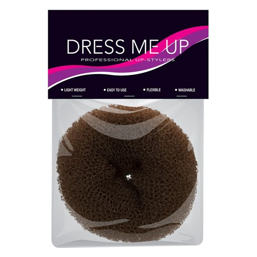 Dress Me Up Hair Donut Brown Small