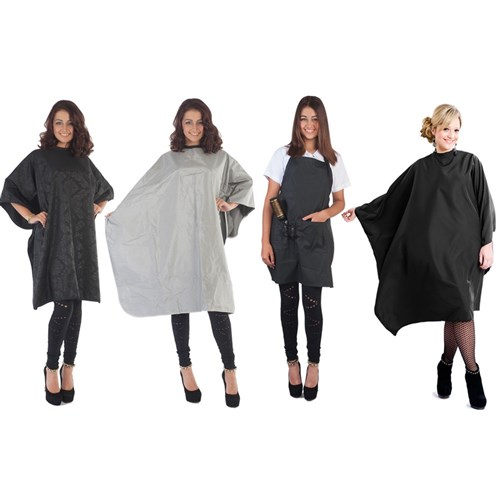 Salon Smart Spoil Me Black Hairdressing Cape