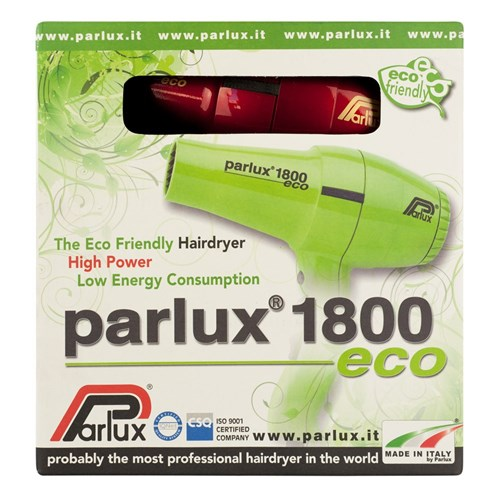 Parlux 1800 Eco Hair Dryer Red