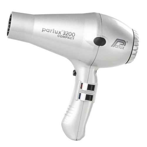 Parlux 3200 Compact Hair Dryer - Silver