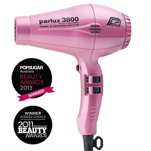 Parlux 3800 Ionic and Ceramic Hair Dryer - Pink