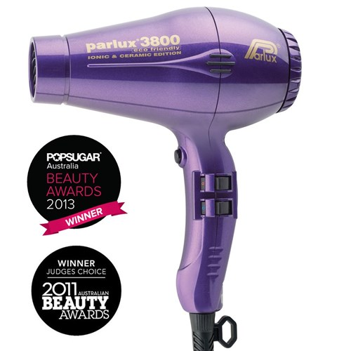 Parlux 3800 Ionic and Ceramic Hair Dryer - Purple