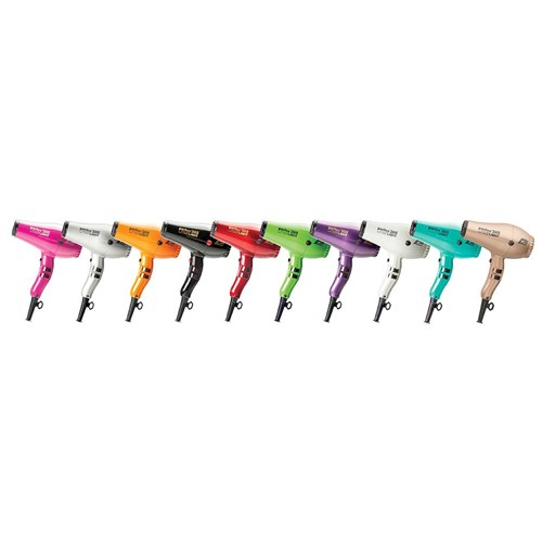 Parlux 385 Power Light Ceramic and Ionic Hair Dryer, Black