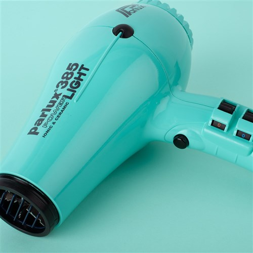 Parlux 385 Power Light Ceramic and Ionic Hair Dryer, Aquamarine