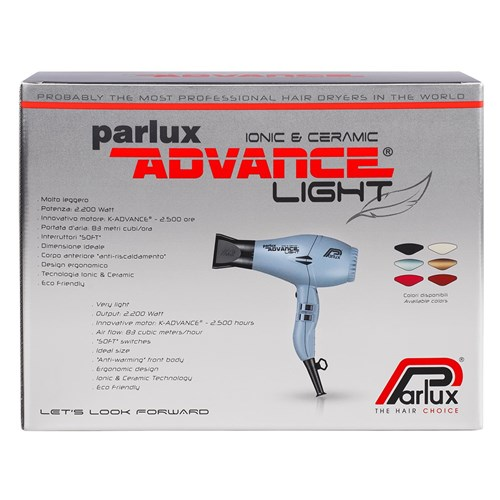 Parlux Advance Light Ceramic and Ionic Hair Dryer Black