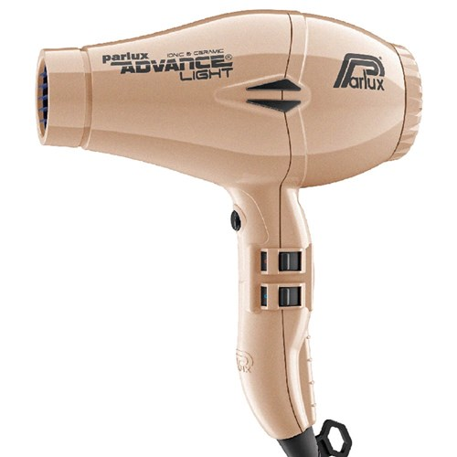 Parlux Advance Light Ceramic and Ionic Hair Dryer Gold