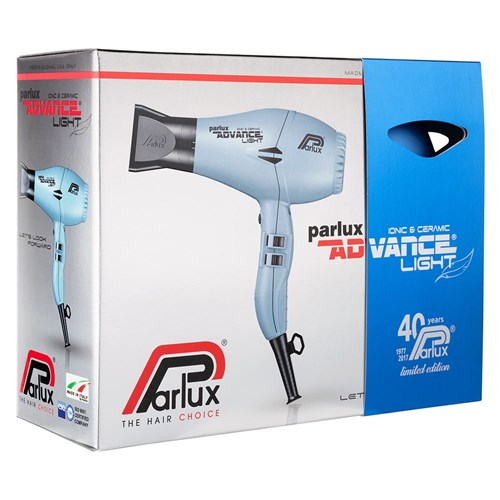 Parlux Advance Light Ceramic and Ionic Hair Dryer Matte Blue