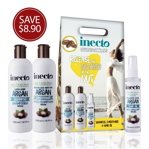 inecto exquisite shine gift pack