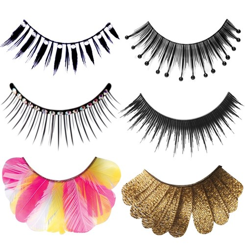 Lash Me Gold Glam Eyelashes