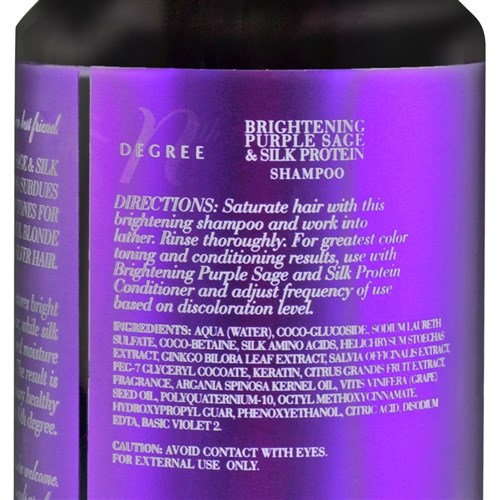 Nth Degree Brightening Purple Sage and Silk Protein Shampoo
