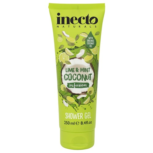 Inecto Lime and Mint Coconut Infusion Shower Gel