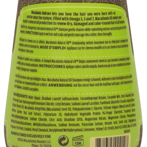 Macadamia Natural Oil Rejuvenating Shampoo, 300mL