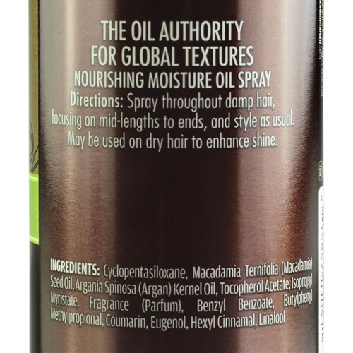 Macadamia Professional Nourishing Moisture Oil Spray