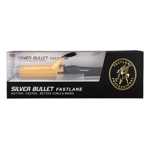 Silver Bullet Fastlane Gold Ceramic 38mm Curling Iron
