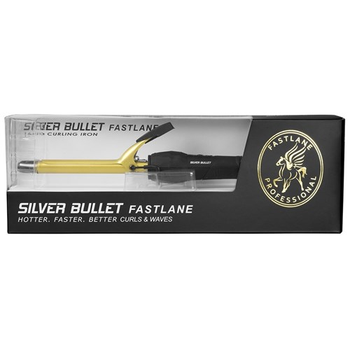Silver Bullet Fastlane Gold Ceramic 16mm Curling Iron