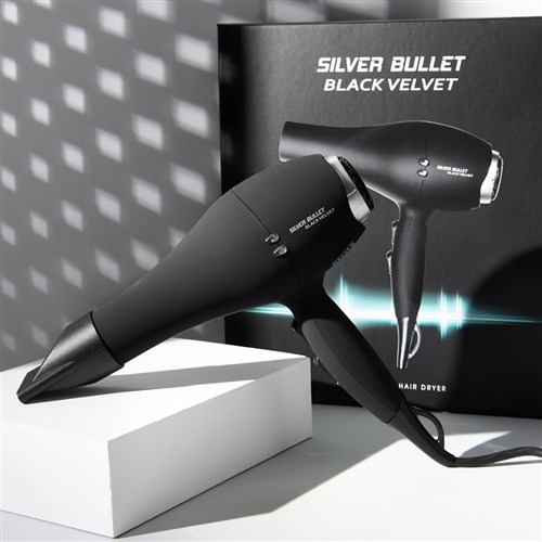 Silver Bullet Black Velvet Professional Hair Dryer
